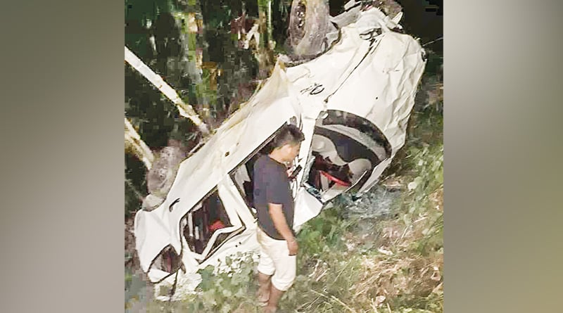 Sikkim: Car plunges into gorge, 5 tourists killed