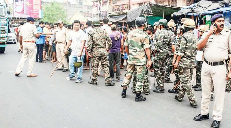 Barakpore: TMC leader died by shootout