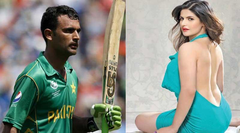 Zareen Khan dating Pakistan batsman Fakhar Zaman!