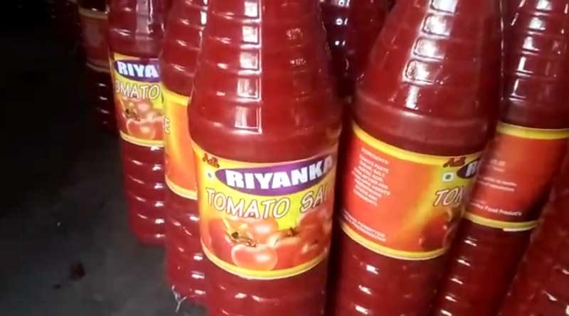 Adulerated Ketchup factory busted