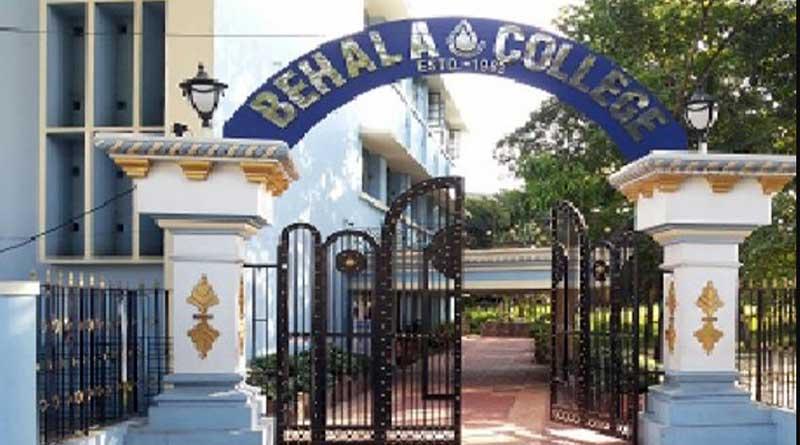 Tension in Behala College