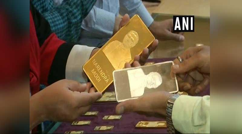 Gold bars with PM Modi's imprints a hit in Gujarat jewellery shop