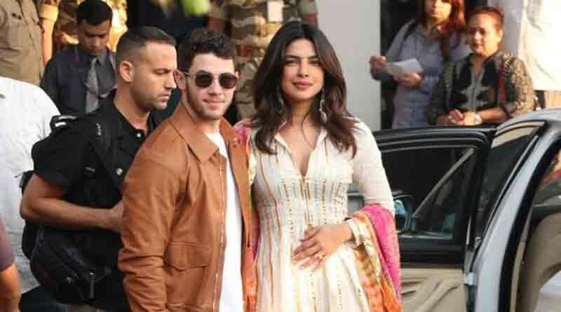 Priyanka's pre-wedding dinner was interrupted by police