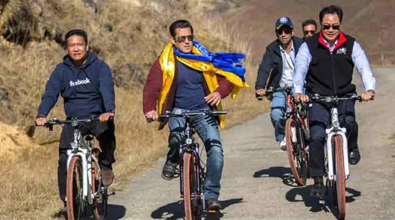 Salman Khan in Arunachal Pradesh
