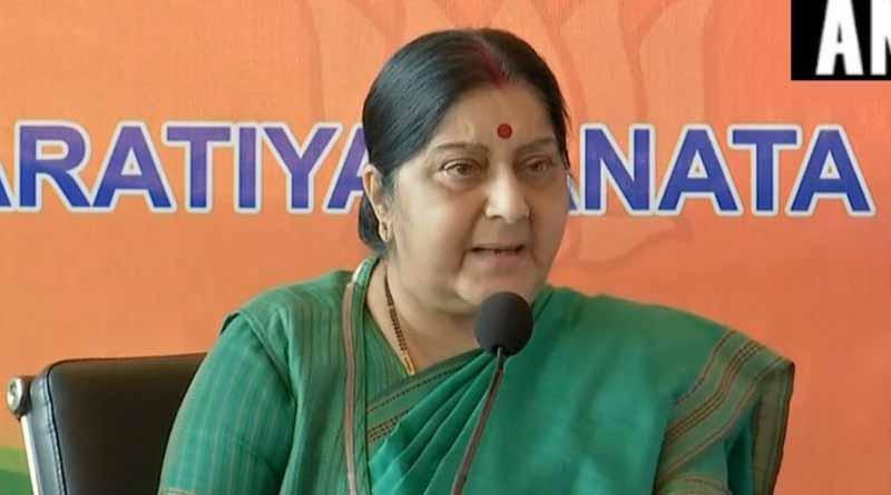 Ex External Affairs Minister Sushma Swaraj slams Mamata Govt.
