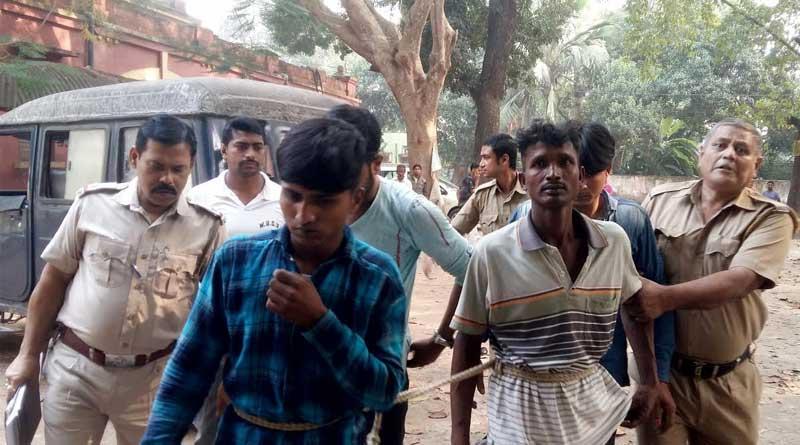 Violence in bagdha on Diwali