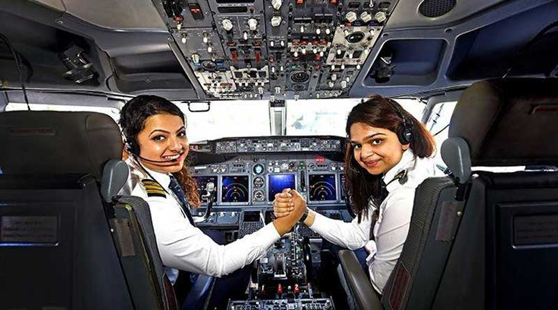 Indian airlines employ highest female pilots