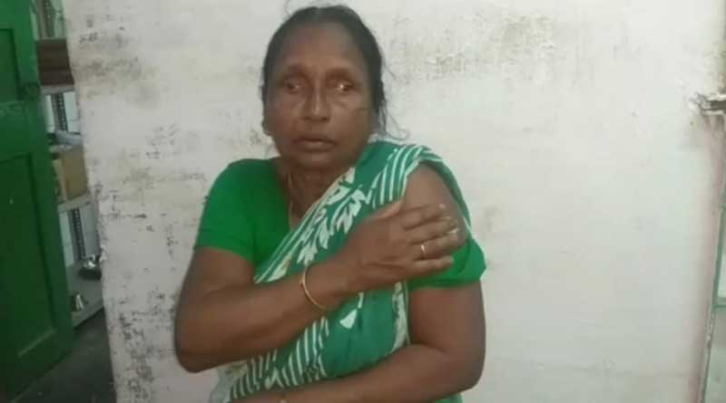 Son thrashes mother in Bongaon