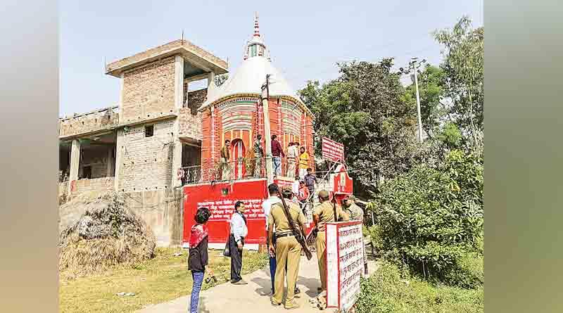 Theft in five temples in Birbhum