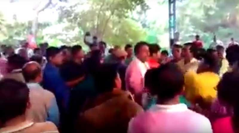 BJP leader assaulted in Nadia