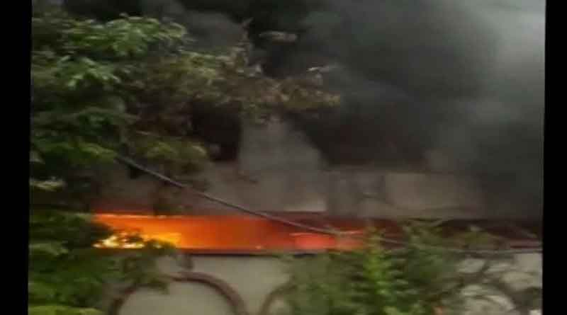 Fire Breaks Out At Factory In Delhi