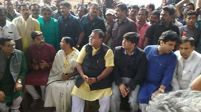 Partha Chatterjee visits Shantipur