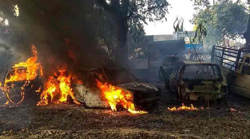 Soldier seen in Bulandshahr's violence video