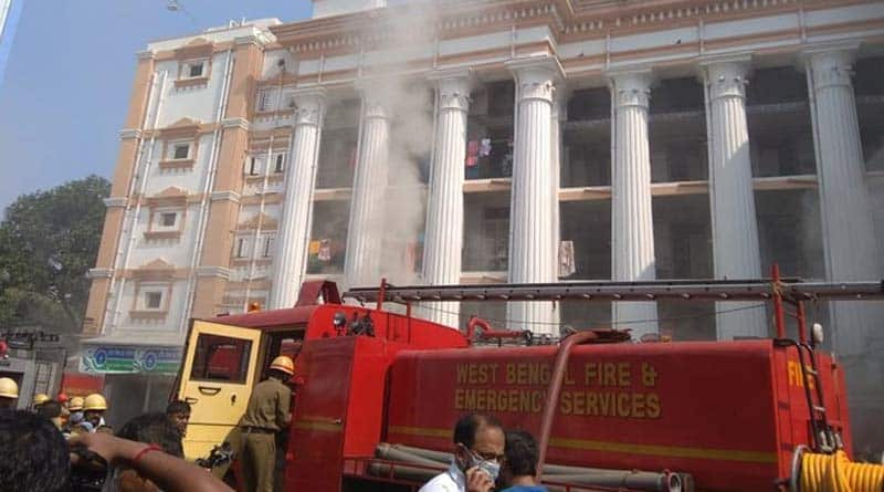 Massive fire broke out at Medical College Kolkata | Sangbad Pratidin