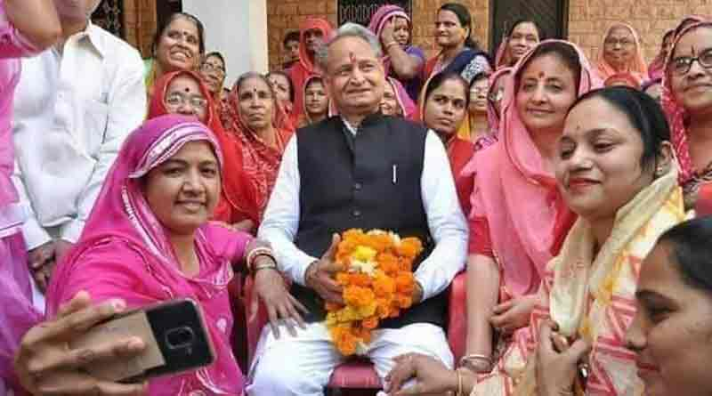 Gehlot wins 30 thousand before results