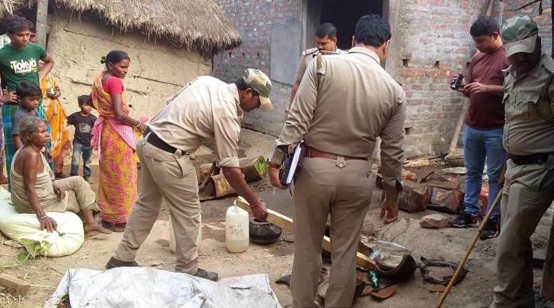 Hooch crackdown in Ghatal