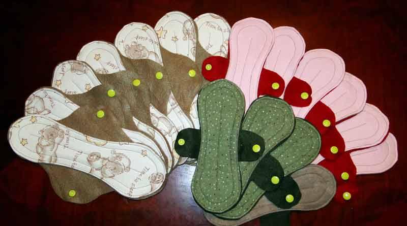 NGO make sanitary pad for tribal women