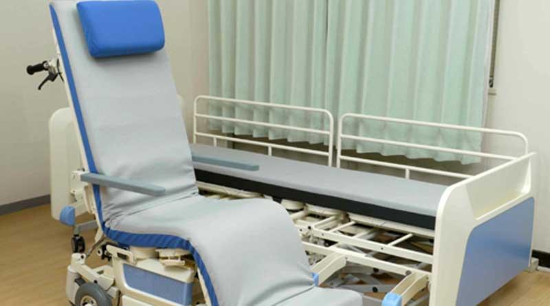 Robot bed in Calcutta Medical College