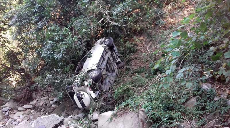 Car accident in Sevak