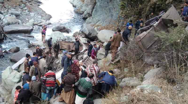 11 passengers has died on bus accident
