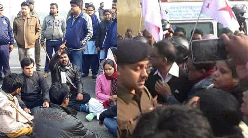 DYFI cadres barred from Bike rally by Police