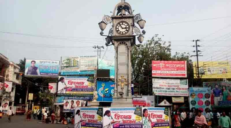 Heritage clock tower in trouble