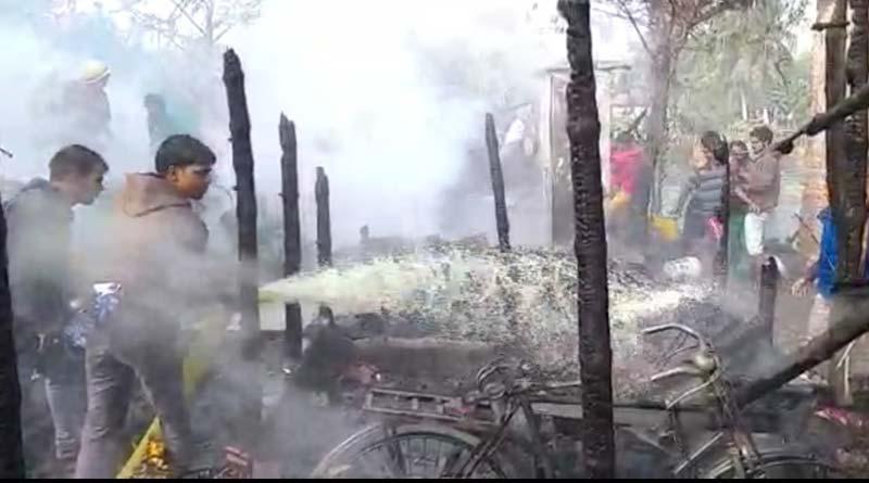 Massive fire breaks out in Saltlake
