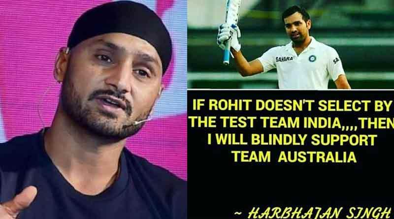 Harbhajan Singh to support Aussies!