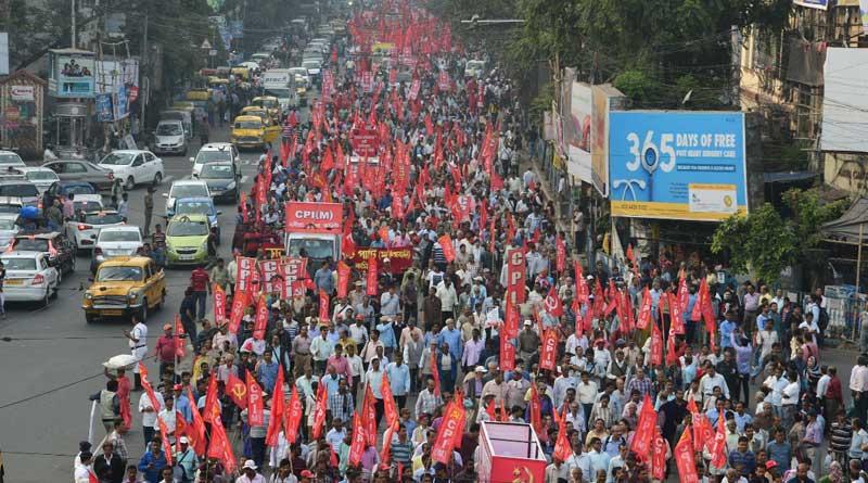 Left Rally in Kolkata