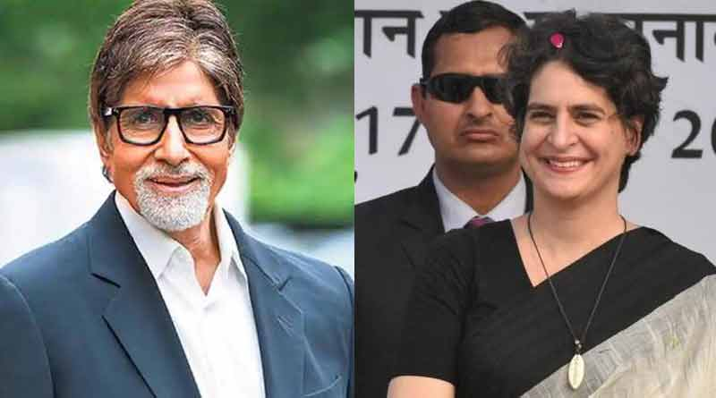 Priyanka joined politics after advise from big B