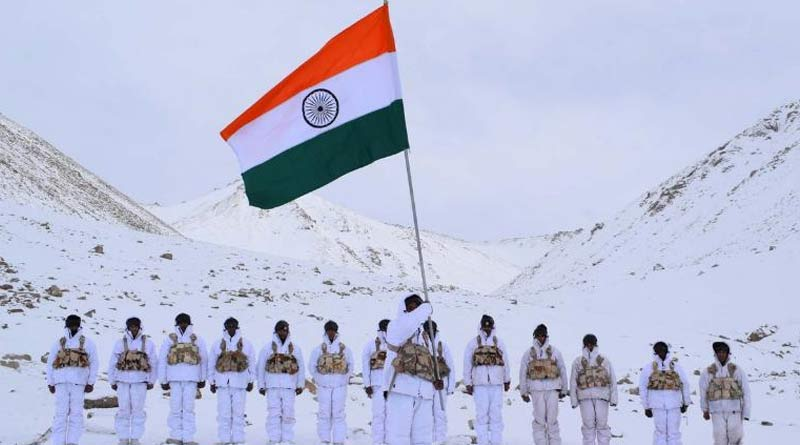 ITBP keeps the tricolour flying high on Republic Day in Ladakh