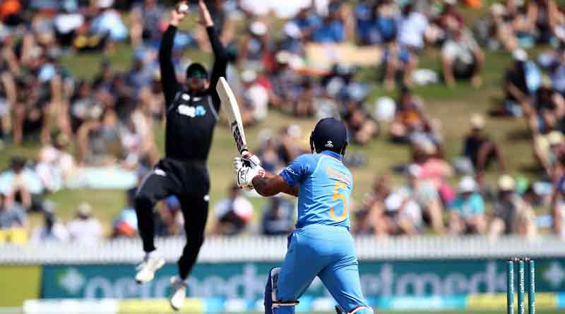 India lost against New Zealand in Hamilton