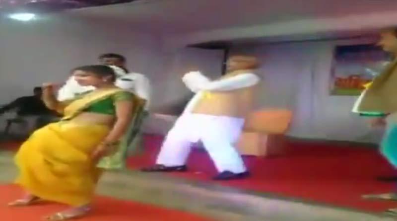Maha MLA dance at school function