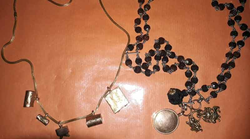 Man arrested, gold jewellery found