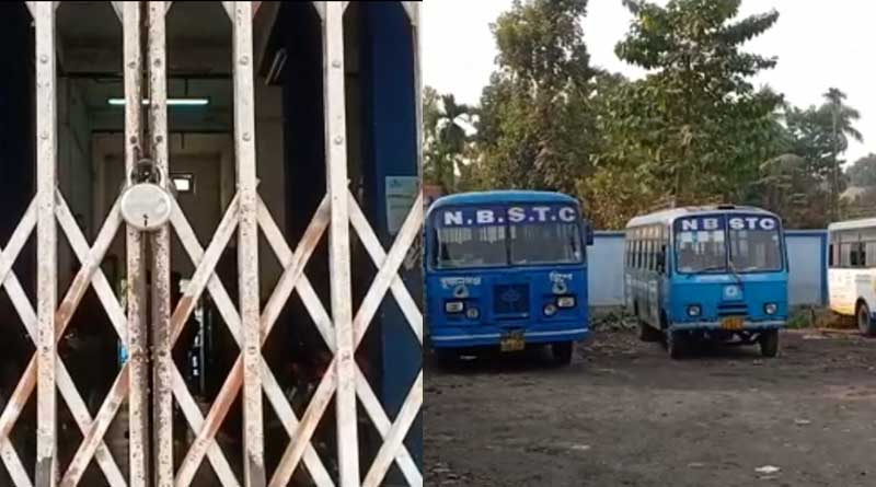 NBSTC depot locked, bus services hit