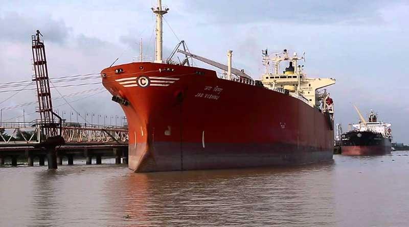 Worker's Strike in Haldia Port