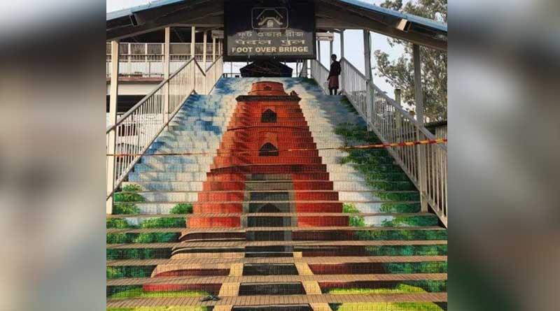 Malda station art sparks row