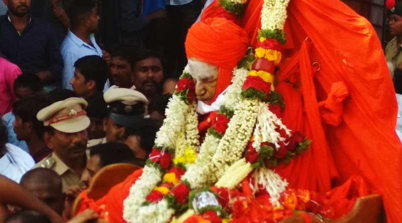 Shivakumara Swamy passes away in 111 years