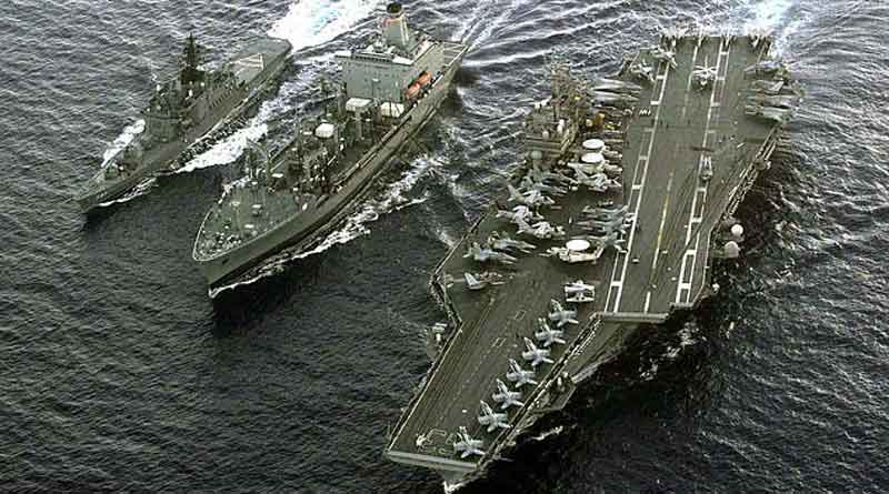 US Aircraft Carrier To Stay In Gulf, announces Pentagon | Sangbad Pratidin