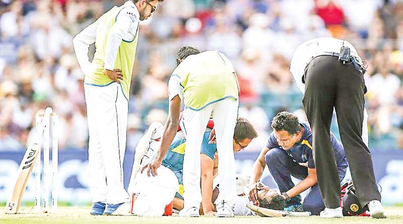 Dimuth Karunaratne hospitalized