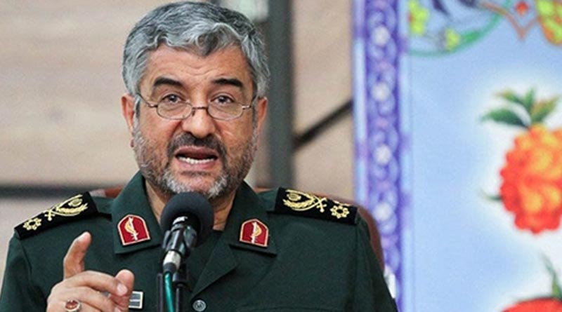 Iran Revolutionary Guards chief Major General Mohammad Ali Jafari