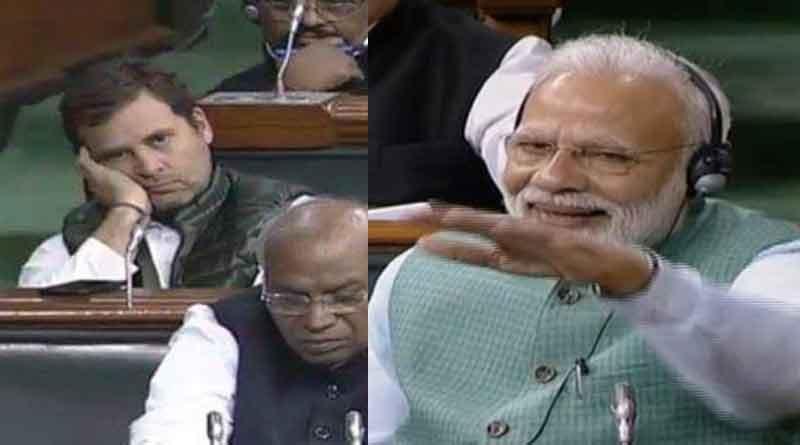 Budget 2019: Rahul slumped, Modi jubilant
