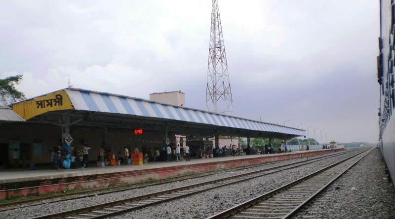 DMU passenger stopped in Maldha's Samsi