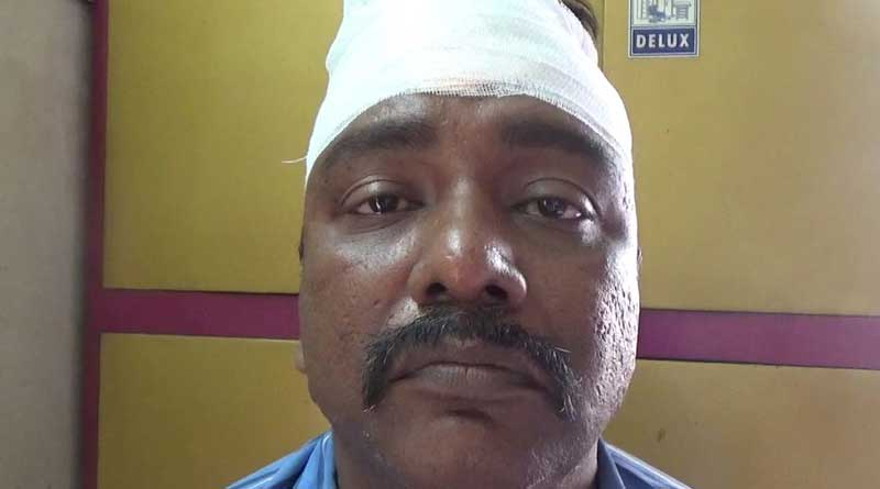 Passenger attacked by Auto Drivers