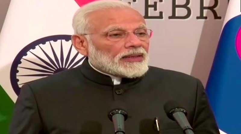 Modi awarded the Seoul Peace Prize
