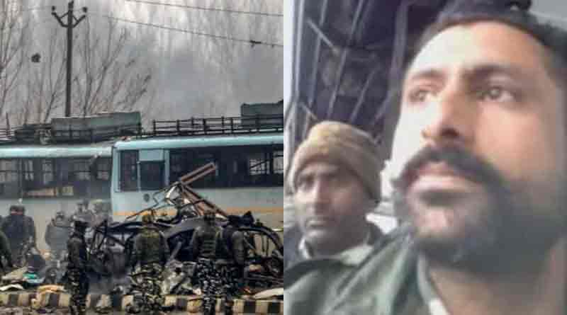 Pulwama attack video circulated