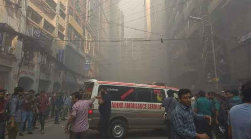 Owner detained for massive fire at Bangladesh's Banani