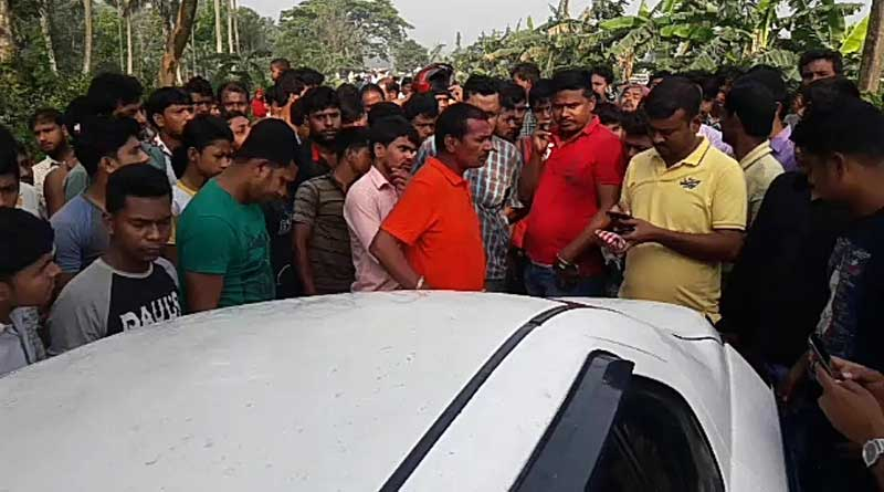 Car stained in blood found abandoned in Bhangar, probe ordered