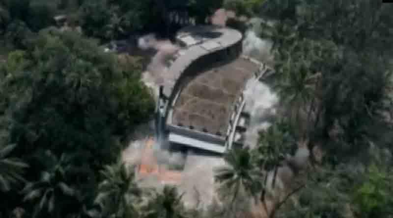 Nirav Modi's Bungalow demolished