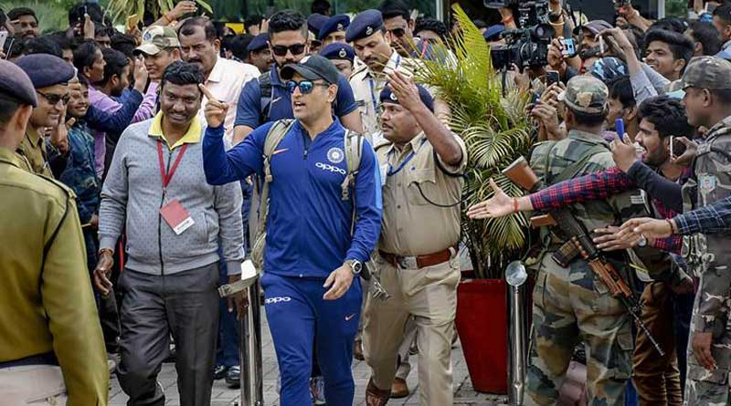 Dhoni refuses to inaugurate stand